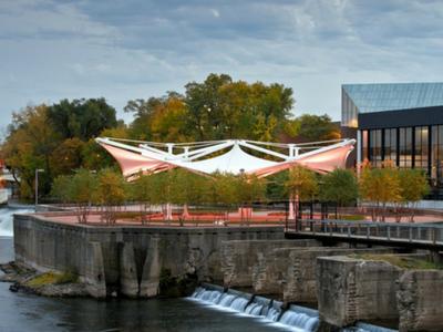 The Island Park Pavilion